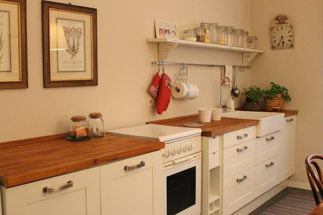 Dapur Klasik Oleh cristina mecatti interior design Klasik