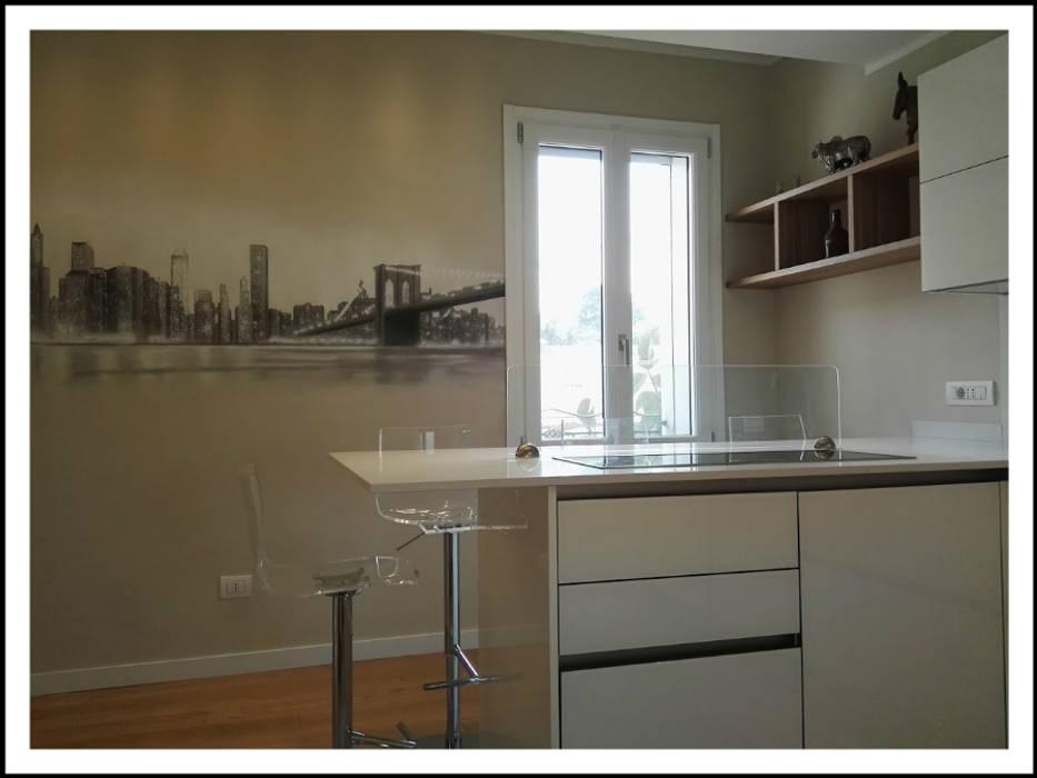 Piano In Quarzo Veneta Cucine.Cucina Veneta Cucine In Vetro Lucido Modello Ri Flex Colore