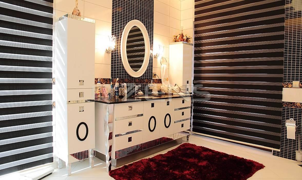 Keskin Konutu Modern Banyo QZENS MOBİLYA Modern