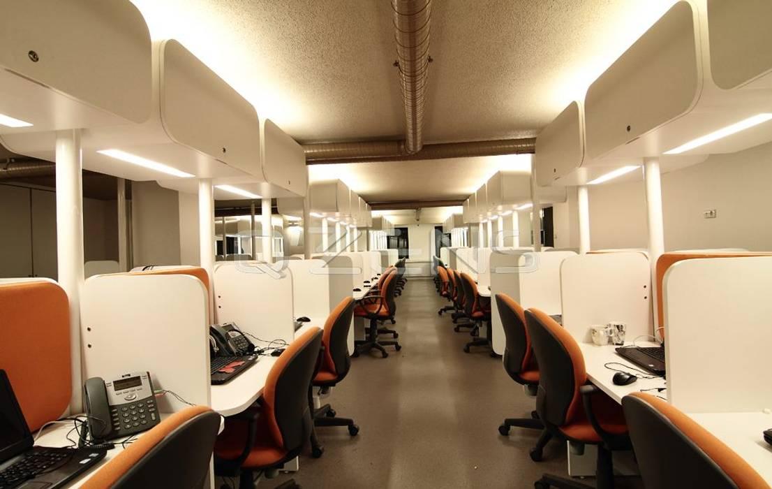 Bureaux de style  par QZENS MOBİLYA, Moderne