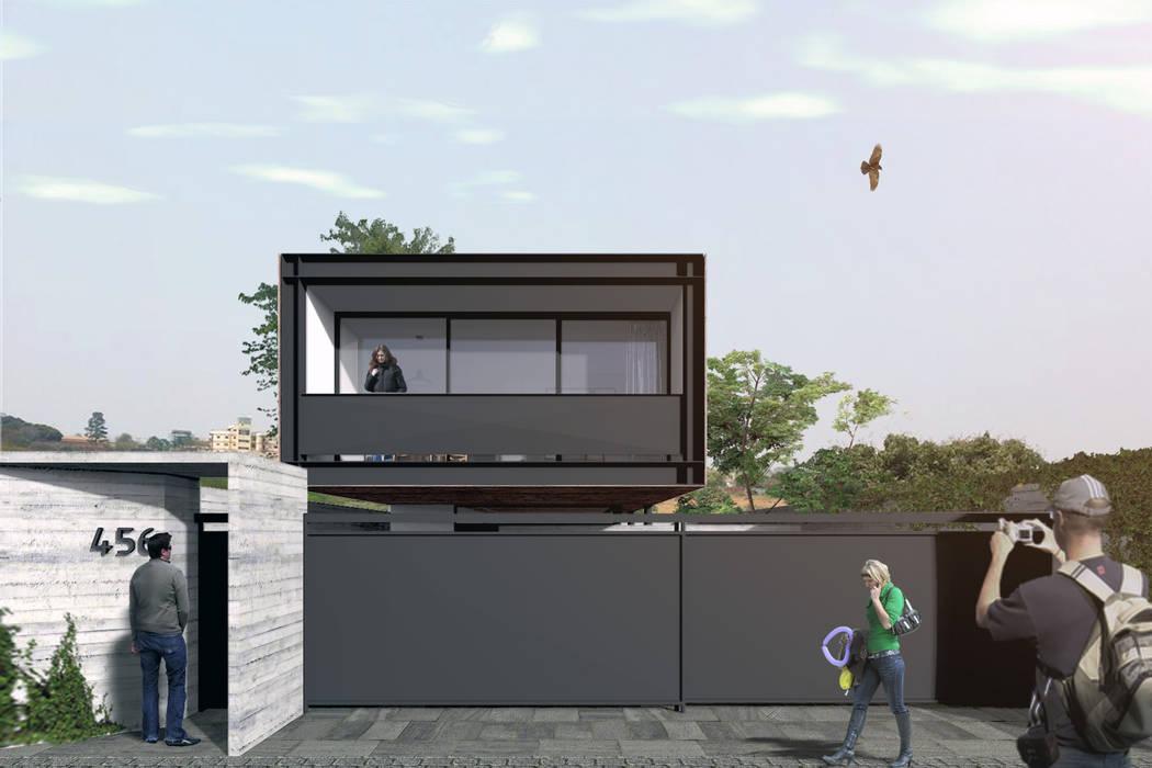 Modern Houses by Commune Arquitetura Modern Iron/Steel