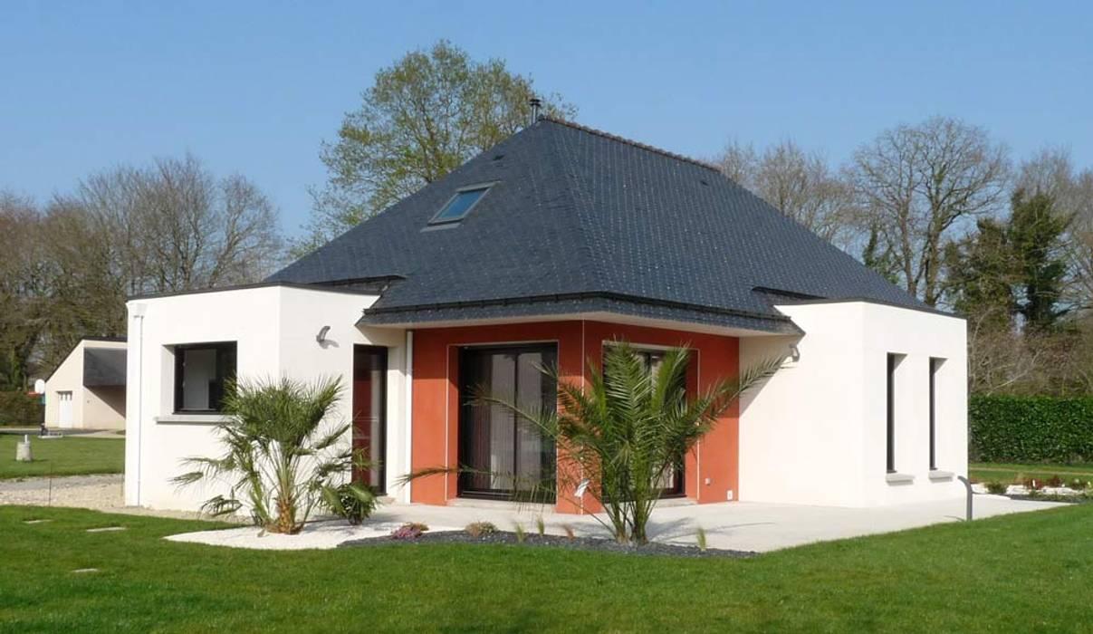 Modern Houses by BERNIER ARCHITECTE Modern