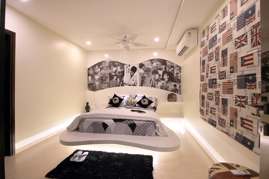 Apartment NA ARCHITECTS Modern Bedroom