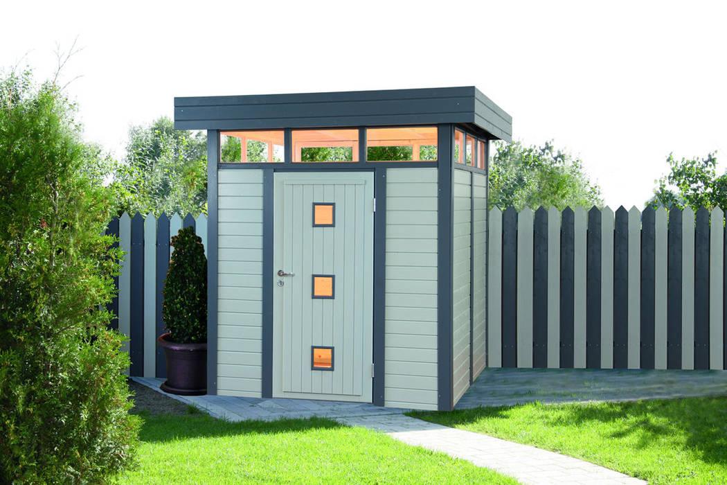 ger tehaus aus holz garage schuppen von gartenhaus2000 gmbh homify. Black Bedroom Furniture Sets. Home Design Ideas