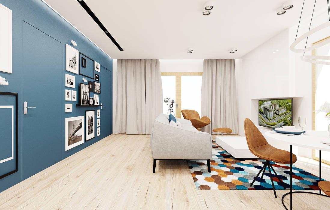 Living room by Ale design Grzegorz Grzywacz, Modern