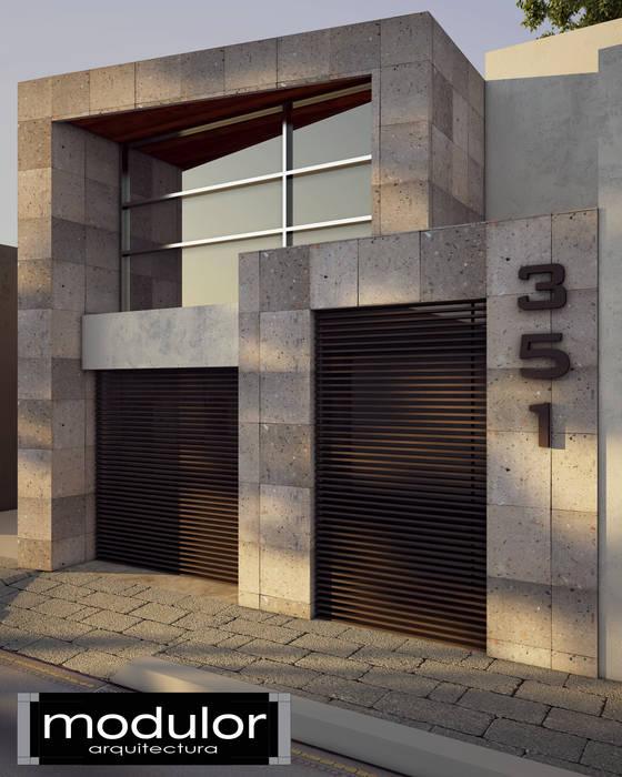 Nhà theo Modulor Arquitectura,