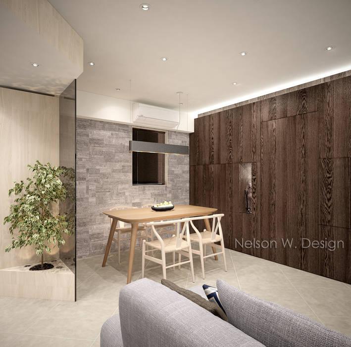 Illumination Terrace 光明臺   Tai Hang Road 大坑道 Modern dining room by Nelson W Design Modern Sandstone