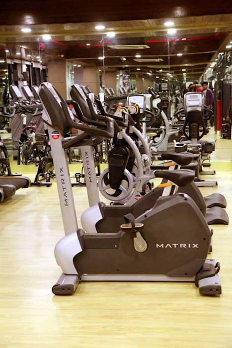 Gymnasium:  Shopping Centres by Floor2Walls,