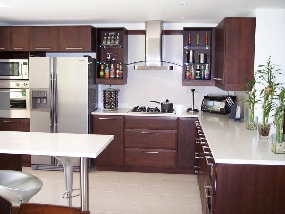 Diseno de cocinas cocinas de estilo moderno por ladosur for Cocina estilo moderno