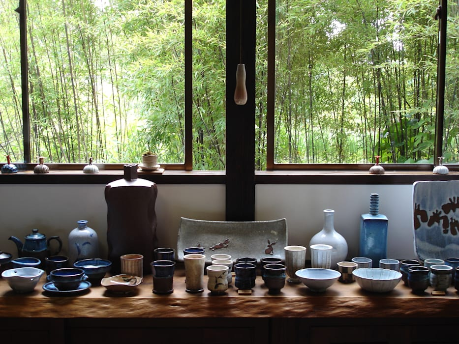 Выставочные центры в . Автор – 白岩焼和兵衛窯, Колониальный Керамика