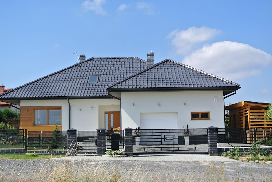 Casas de estilo  de Pracownia Projektowa ARCHIPELAG,