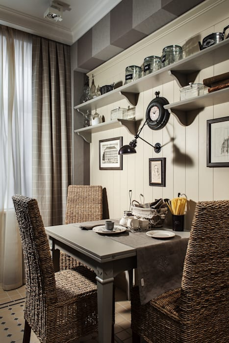 The apartment  in Moscow 02: Cuisine de style de style Classique par Petr Kozeykin Designs LLC, 'PS Pierreswatch'