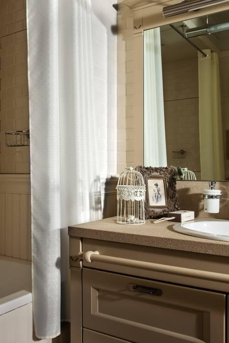 The apartment  in Moscow 02: Salle de bains de style  par Petr Kozeykin Designs LLC, 'PS Pierreswatch'