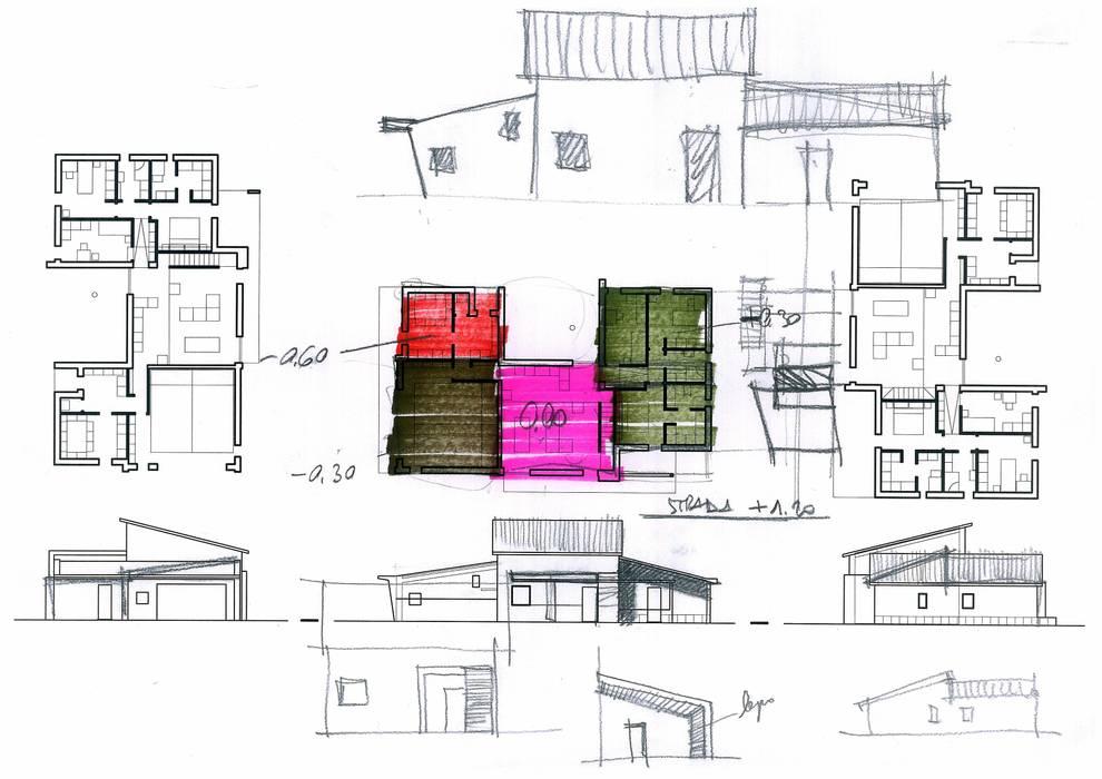 Villa Ilaria, casa in legno: Case in stile in stile Moderno di Progettolegno srl