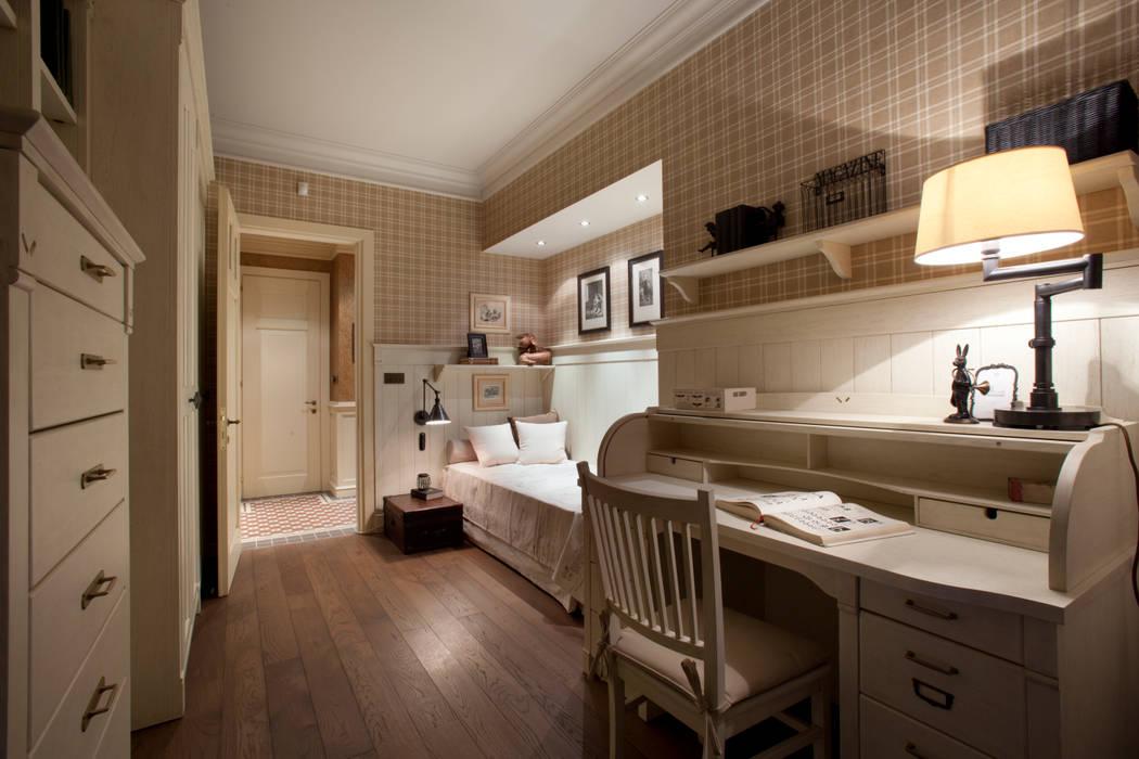 The apartment in Moscow 01: Chambre d'enfant de style  par Petr Kozeykin Designs LLC, 'PS Pierreswatch'