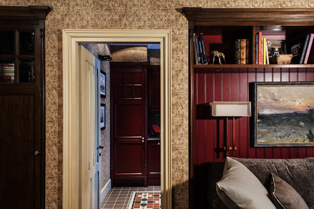 The apartment in Moscow 03: Salon de style  par Petr Kozeykin Designs LLC, 'PS Pierreswatch'