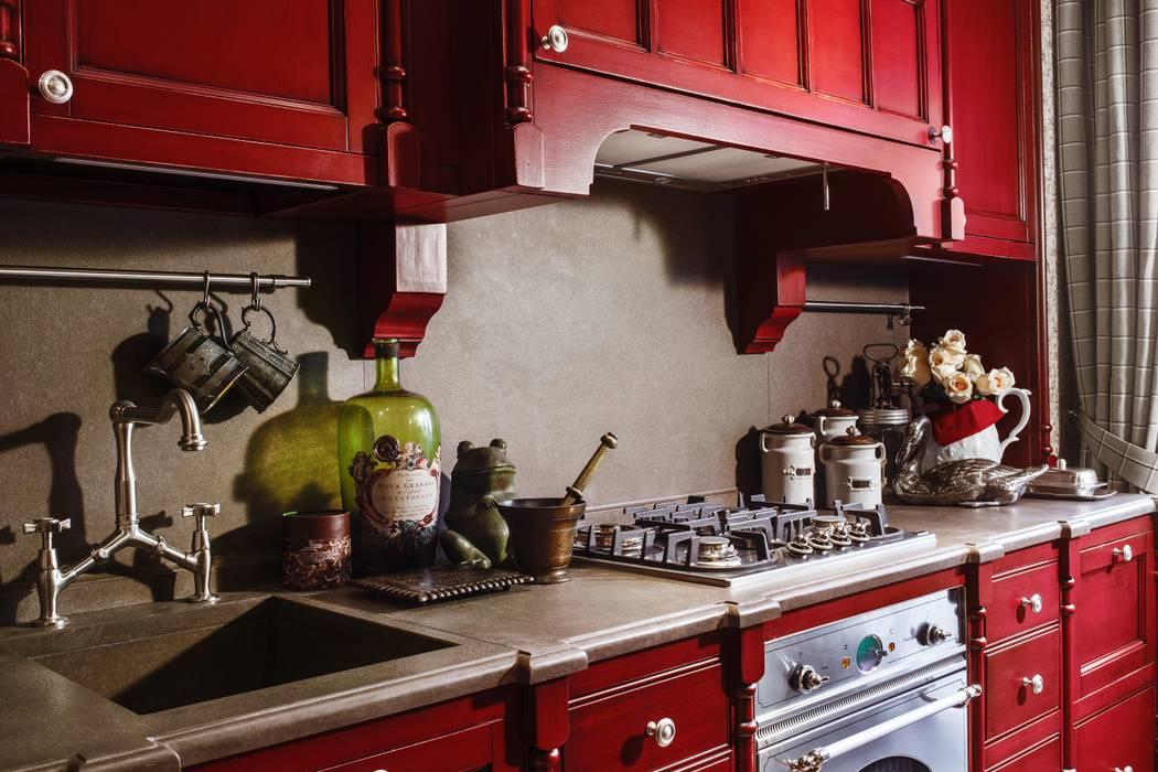 The apartment in Moscow 03: Cuisine de style  par Petr Kozeykin Designs LLC, 'PS Pierreswatch'