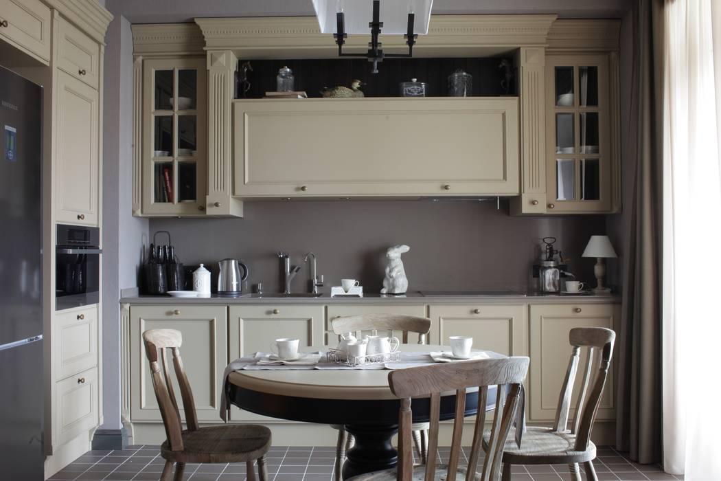 Apartment in Kurkino (Moscow) RU: Cuisine de style  par Petr Kozeykin Designs LLC, 'PS Pierreswatch'