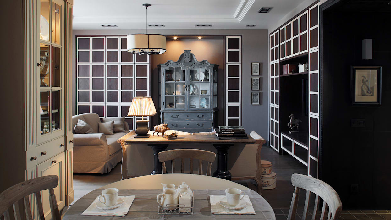 Apartment in Kurkino (Moscow) RU: Cuisine de style de style Classique par Petr Kozeykin Designs LLC, 'PS Pierreswatch'