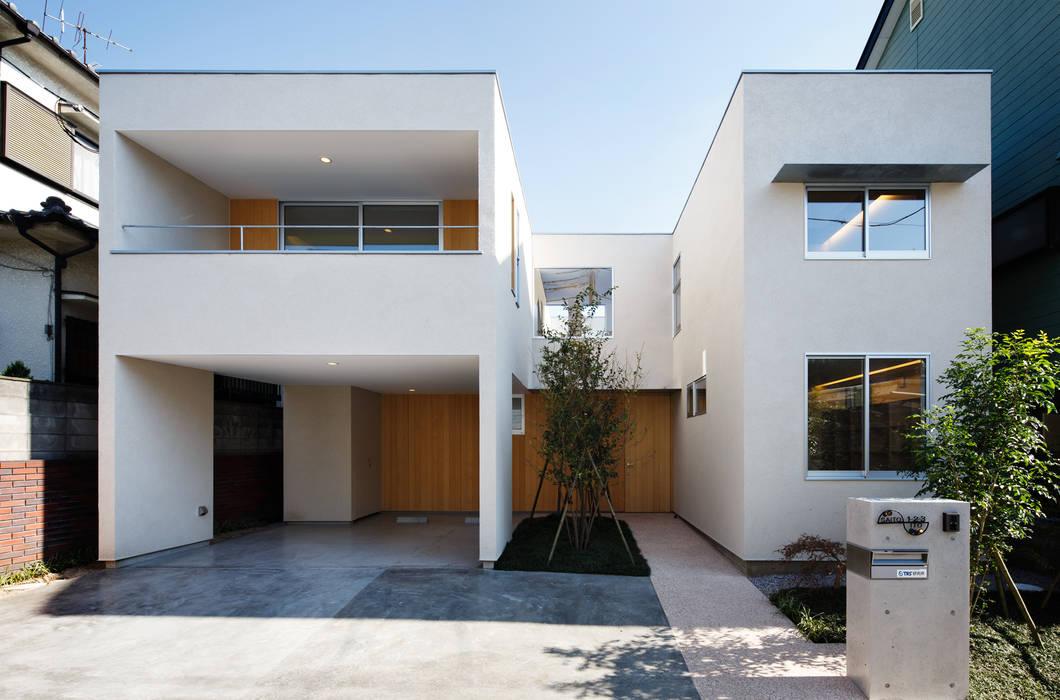 Moderne Häuser von アトリエ スピノザ Modern