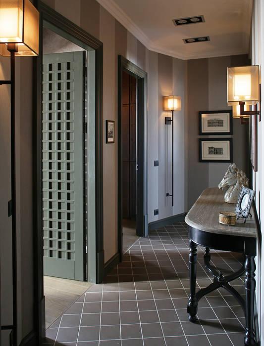 Apartment in Kurkino (Moscow) RU: Couloir et hall d'entrée de style  par Petr Kozeykin Designs LLC, 'PS Pierreswatch'
