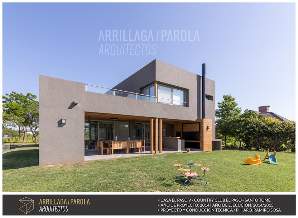 ARRILLAGA&PAROLA Modern houses