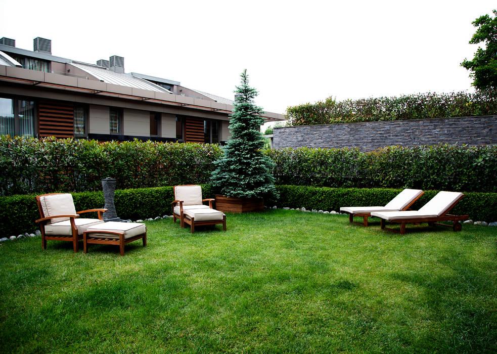 K.Ç EVİ Modern Bahçe Kerim Çarmıklı İç Mimarlık Modern