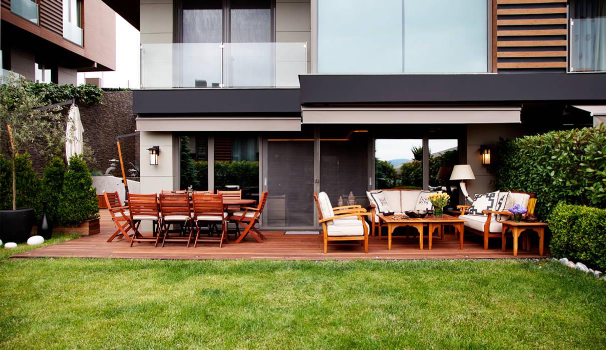 Balcon, Veranda & Terrasse modernes par Kerim Çarmıklı İç Mimarlık Moderne