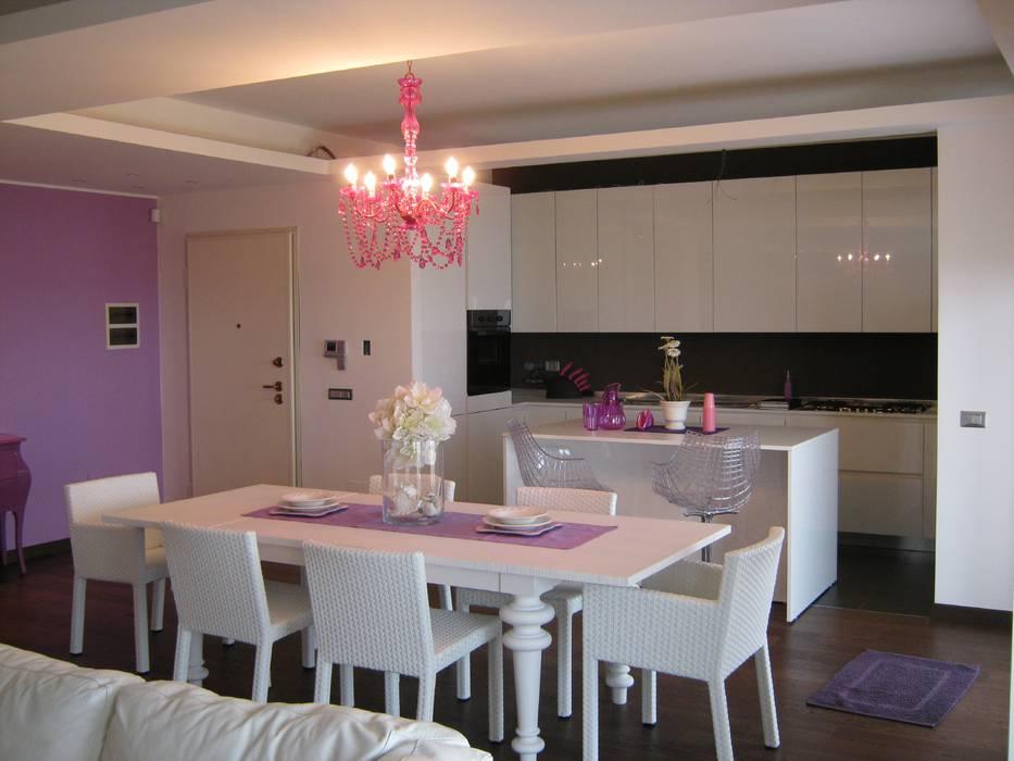 Гостиная в стиле модерн от Giuseppe Rappa & Angelo M. Castiglione Модерн Дерево Эффект древесины