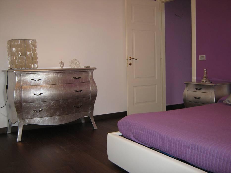 Appartamento a Casteldaccia PA - 2010 Camera da letto moderna di Giuseppe Rappa & Angelo M. Castiglione Moderno Legno Effetto legno