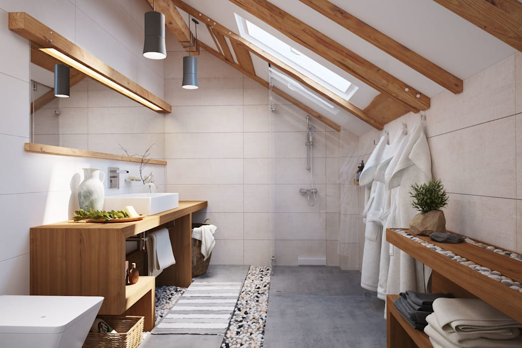 Bathroom by Polygon arch&des