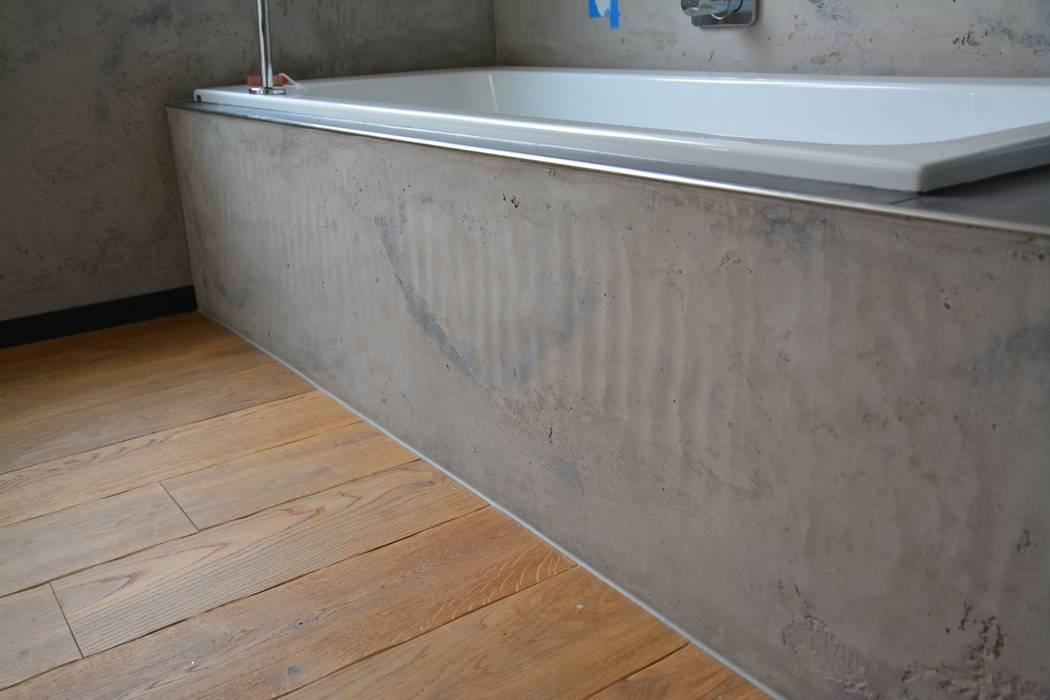 Betonoptik Fugenlose Wande Badezimmer Von Ulrich Holz Baddesign