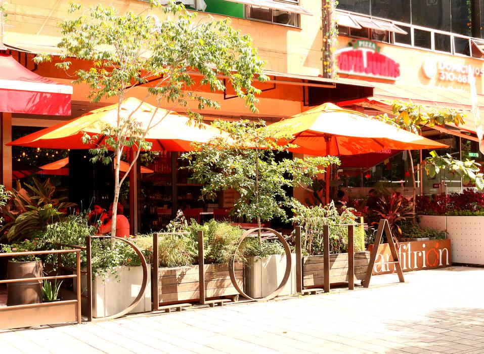 CAFÉ DE LOLITA _ Anfitrión: Locales gastronómicos de estilo  por @tresarquitectos, Industrial