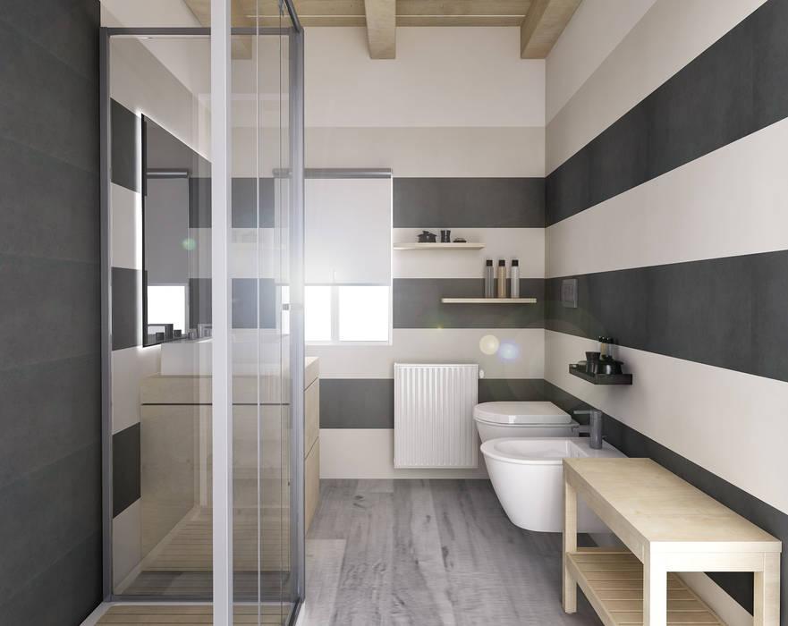 Bagno_Luigia Pace per InteriorBE: Bagno in stile in stile Moderno di redesign lab