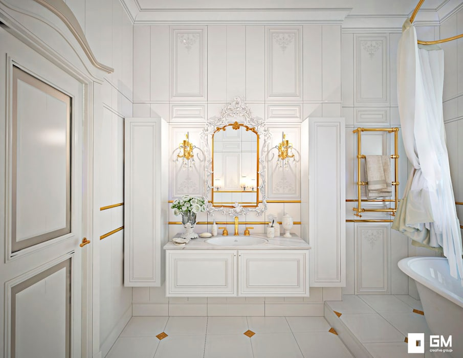 Classic style bathroom by GM-interior Classic