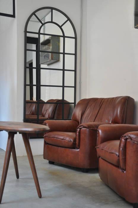 Arco Mirror STUDIO 900 DESIGN Endüstriyel Demir/Çelik