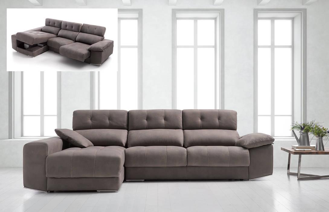 Sof chaise longue modelo m nica salones de estilo de - Ofertas de sofas en merkamueble ...