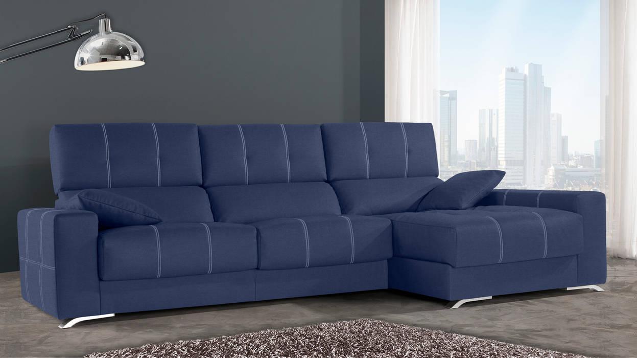 Sof chaise longue modelo panam salones de estilo de - Ofertas de sofas en merkamueble ...
