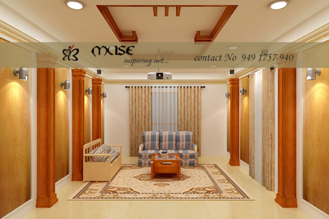 Livings de estilo  por Muse Interiors, Moderno