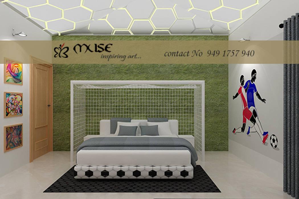 Dormitorios infantiles de estilo  por Muse Interiors, Moderno