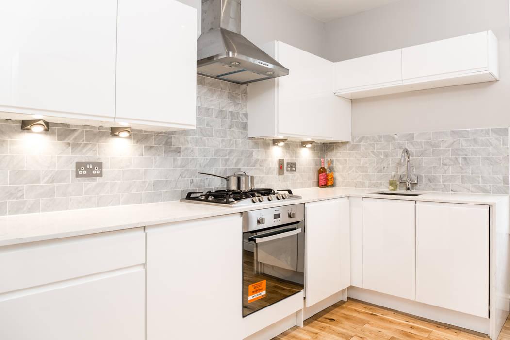 Landcroft Road - East Dulwich Oakman Classic style kitchen