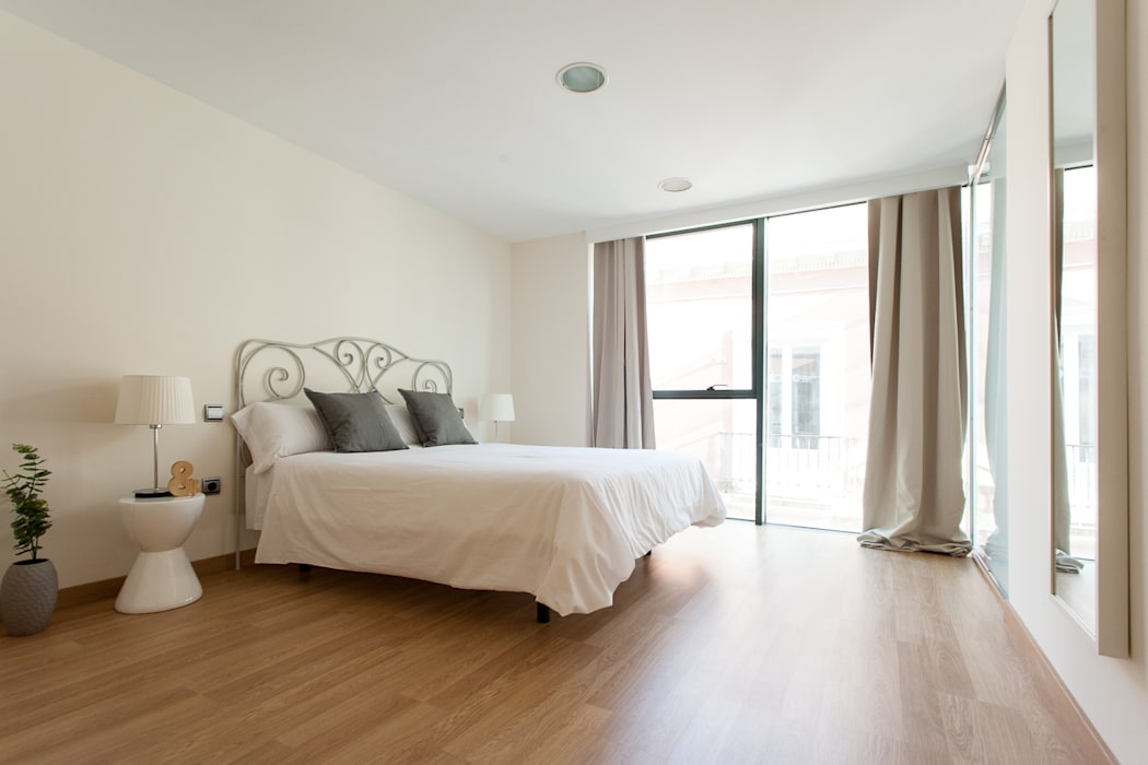Apartamento Pastel de homify Moderno
