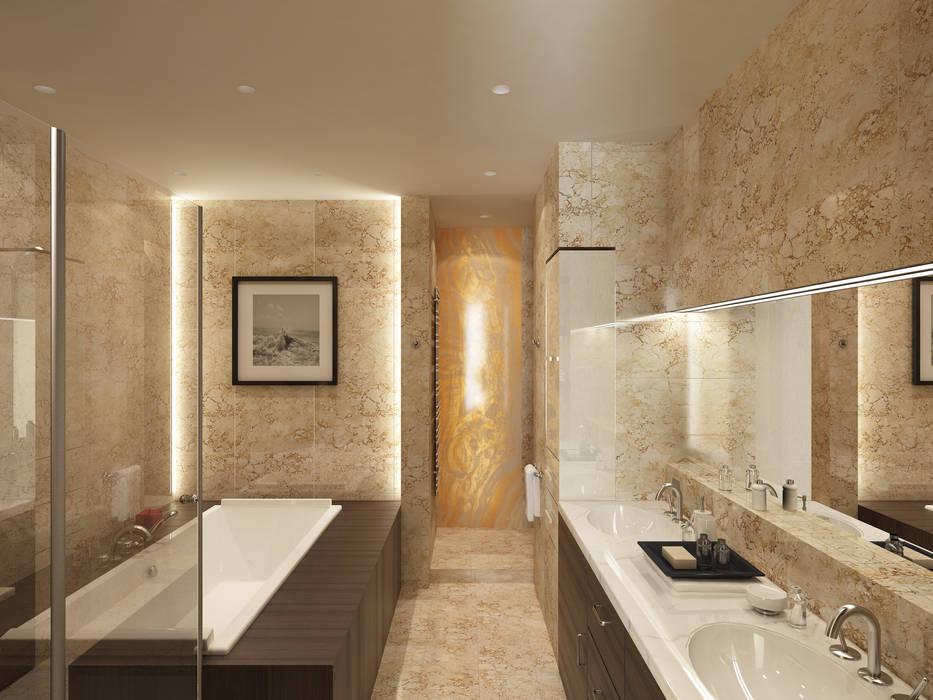 Menz Design – Banyo: modern tarz , Modern