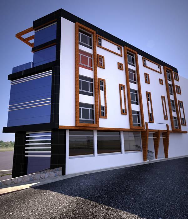 H.E: Mimarlık – Şemikler İş Merkezi Dış Cephe Çalışması :  tarz Evler,