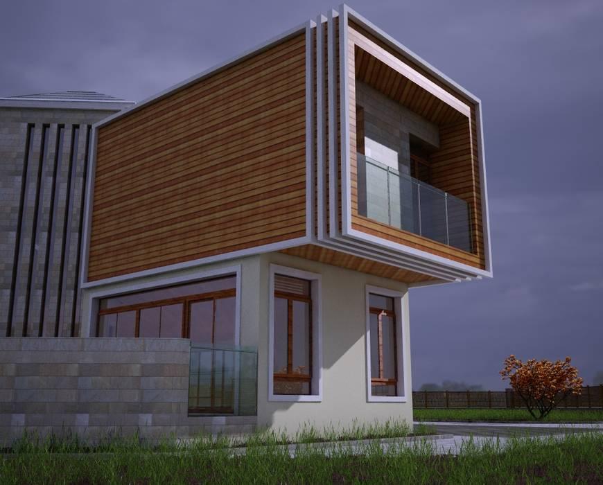 Casas estilo moderno: ideas, arquitectura e imágenes de H.E: Mimarlık Moderno