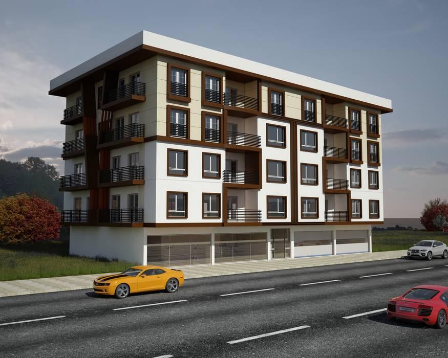 Ahmet Bey Edremit Konut Projesidir. Modern Evler H.E: Mimarlık Modern