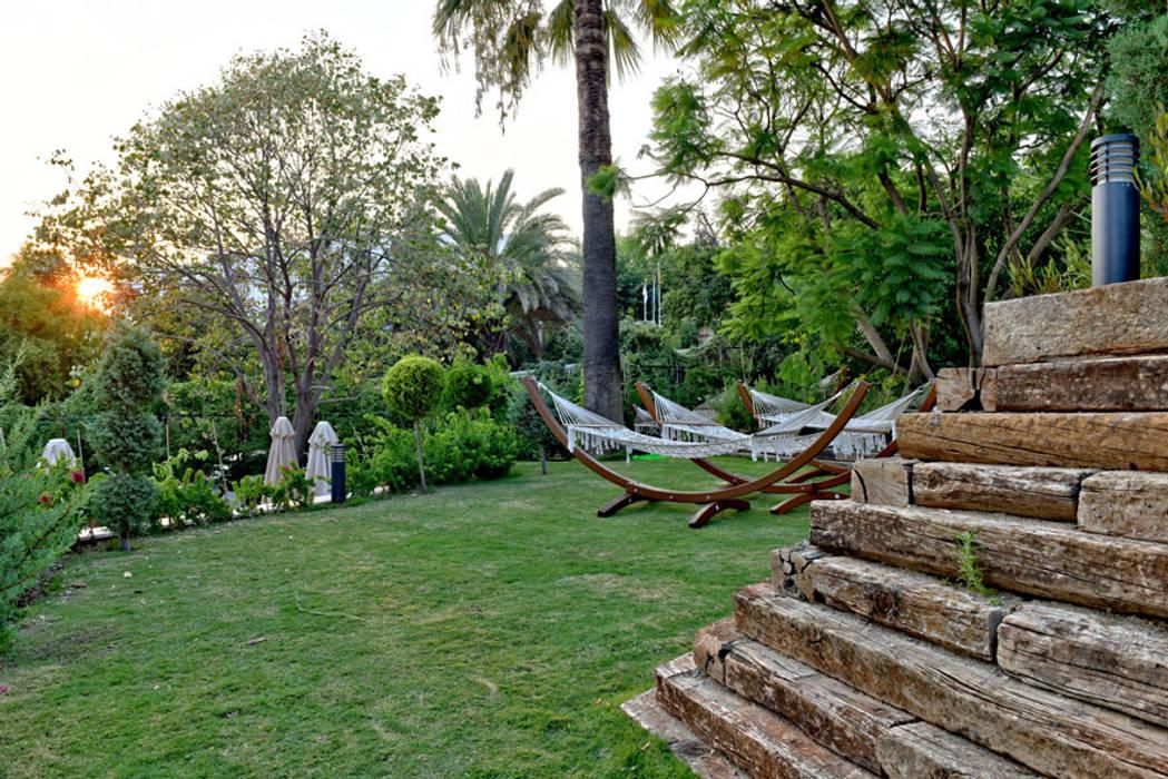 Relax Havuz Alanı Akdeniz Bahçe Nota Tasarım Peyzaj Mimarlığı Ofisi Akdeniz