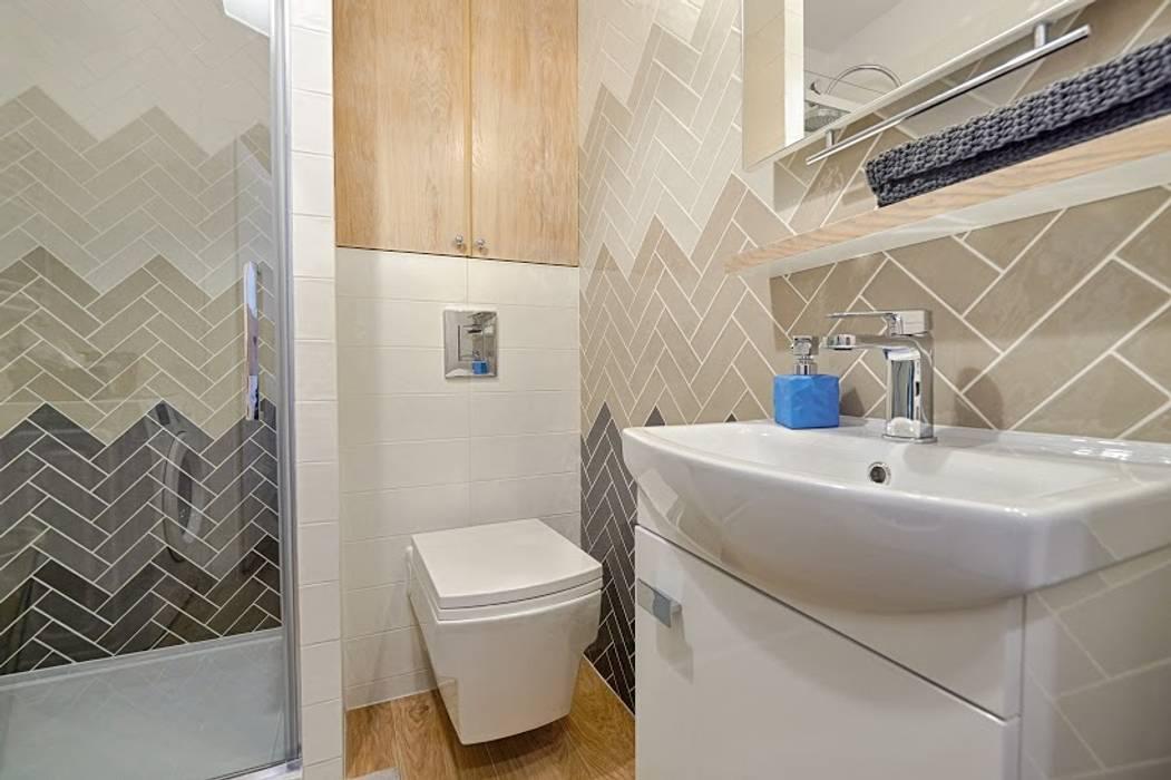 Ванные комнаты в . Автор – DreamHouse.info.pl, Скандинавский