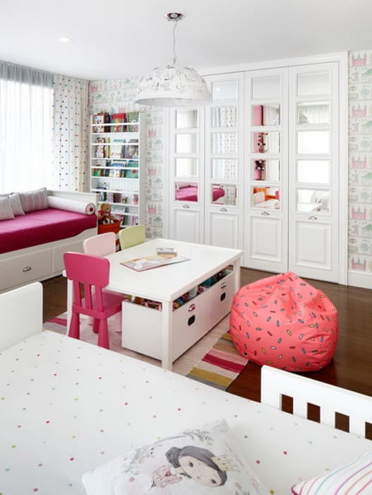 EC HOUSE Dormitorios infantiles de estilo moderno de Esra Kazmirci Mimarlik Moderno