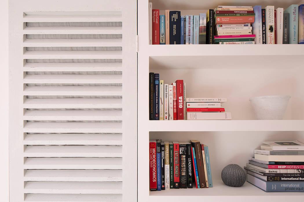 BIDDULPH MANSIONS, MAIDA VALE Phòng ngủ phong cách hiện đại bởi Ardesia Design Hiện đại